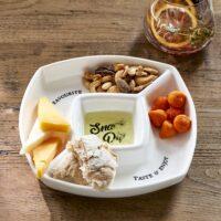 Snack Dip Plate
