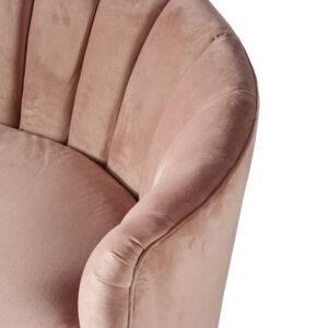Sofa - Beverly Hills Sofa 2,5 Seater, velvet, Blush BESTILLINGSVARER