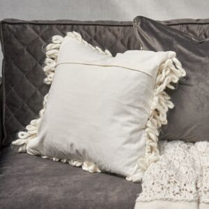 Pude - Cristobal Pillow Cover white 50x50