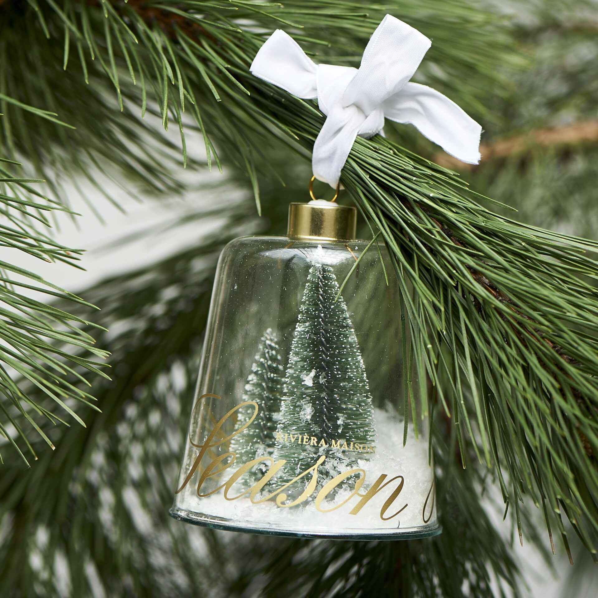 Glaspynt – Joy Of The Season Ornament Green M