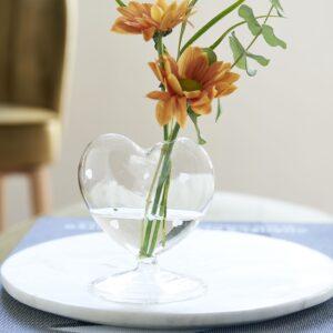 Glasvase - Happy Heart Flower Vase