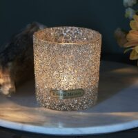 Lysestage - Silver Dust Sprinkle Votive S