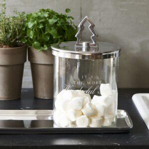 Opbevaringsglas - Wonderful Christmas Storage Jar