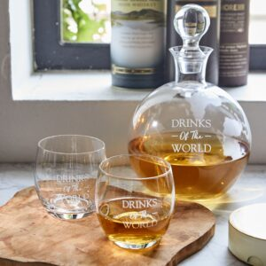 Whiskey sæt - Drinks Of The World Whiskey Set