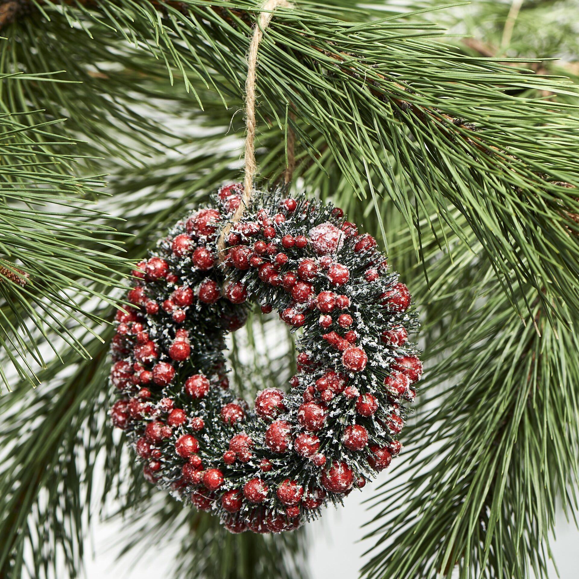 Bærkrans – Basic Berry Wreath 15 cm