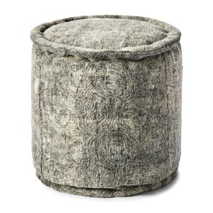 Puf - Marrakesh Pouf 40dia Dark Grey
