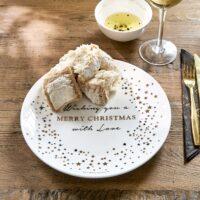 Sparkling Christmas Plate Dia 28