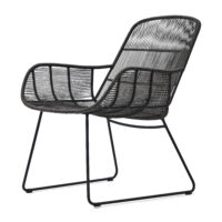 Lounge havestol - Hartford Outdoor LC Espresso/Lava BESTILLINGSVARER