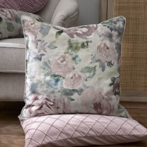 Pude inkl. fyld - Fabulous Flora PC pink 60x60 UDSOLGT