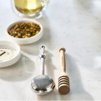 Tesi+honning ske - Perfect Tea Time Infuser & Dipper