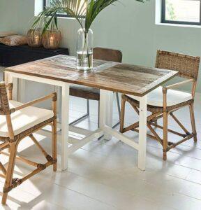 Spisebord - kan foldes ud fra 2 til 8 pers - Wooster Street DT EXT 70/135/200 BESTILLINGSVARER