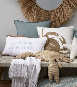 Pude inkl. Fyld - Life Is Good PC white 60x30