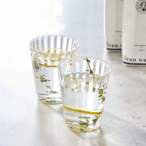 Plast vandglas - Beach Vibes Glass 2 pcs