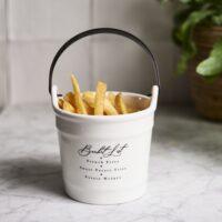Porcelænsspand - Choose Your Fries Bucket