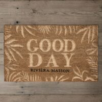 RM Good Day Leaves Doormat