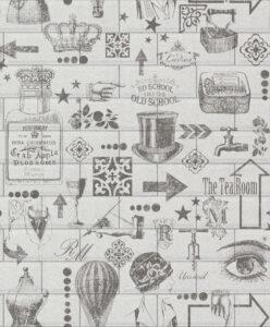 Tapet - RM Wallpaper Midtown creme BESTILLINGSVARER