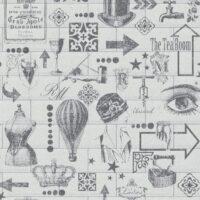 Tapet - RM Wallpaper Midtown white BESTILLINGSVARER