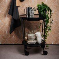 Bakkebord, mat sort - Fra Sack It. 1 STK. TILBAGE