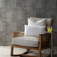 Tapet – RM Wallpaper Rustic Rough Linen grey BESTILLINGSVARER