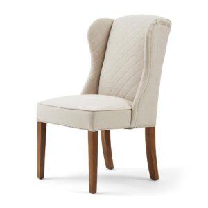 Spisebordsstol - William Dining Chair Flanders Flax BESTILLINGSVARER