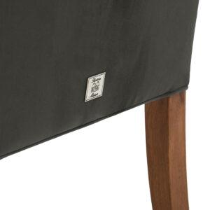 Spisebordsstol - William Dining Chair Velvet Slate Grey BESTILLINGSVARER