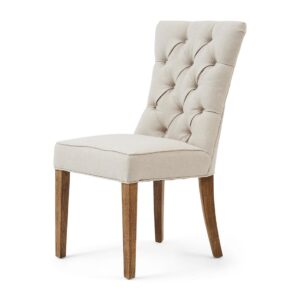 Spisebordsstol - Balmoral Dining Chair, Fland Flax - BESTILLINGSVARER