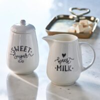 Finest Milk & Sugar Set