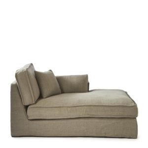 Modulsofa - Metropolis Chaise Longue Right, washed cotton BESTILLINGSVARER