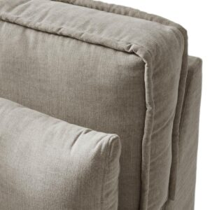 Modulsofa - Metropolis Corner Arm Right, washed cotton BESTILLINGSVARER