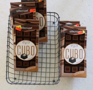 6 stk. chokoladeforme + zink bakke