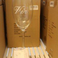 8 stk. vinglas - rødvin