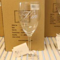8 stk. vinglas - hvidvin