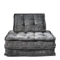 The Uptown Sofa, velvet, grey BESTILLINGSVARER