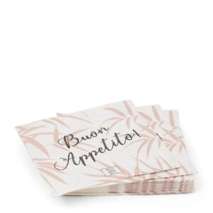 Servietter - Paper Napkin Bamboo Leaf