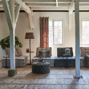 The Uptown Sofa, velvet, grey BESTILLINGSVARER