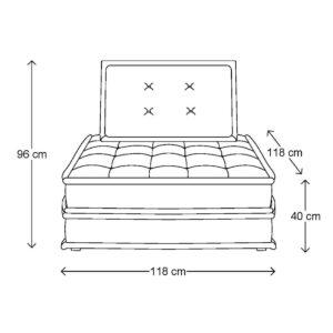 The Uptown Sofa, melee, natural BESTILLINGSVARER