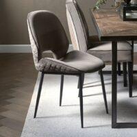Spisebordsstol - Mr. Beekman Dining Chair, velvet III, anthracite BESTILLINGSVARER