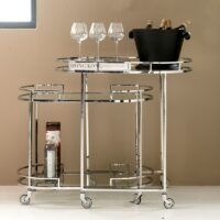 Barbord - Crosby Street Bar Cart S/2 KOMMER SNART
