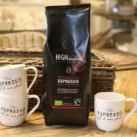 High Mountain Kaffe Bønner Espresso Økologisk - 200 g
