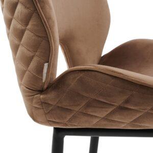 Mr. Beekman Dining Chair, mélane weave, carbon - BESTILLINGSVARER