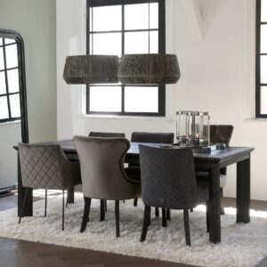 Bridge Lane Dining Chair Diamond Stitch Sorrento 801 BESTILLINGSVARER