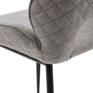 Mr. Beekman Dining Chair, mélane weave, fog - BESTILLINGSVARER