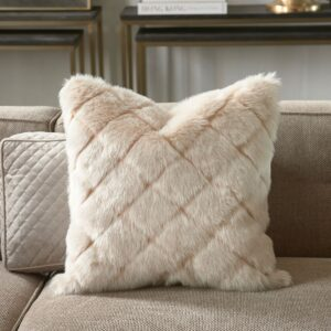 Pude inkl. fyld Diamond Fur Pillow Cover 50x50
