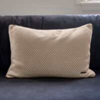 Pude inkl. fyld - Le Voyage Nomade Diamond Pillow Cover beige 65x45