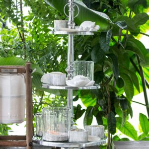 Glasopsats - Berkeley Glass Cakestand 3 Levels