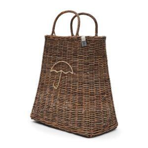 Paraplyholder - Rustic Rattan Umbrella Bag