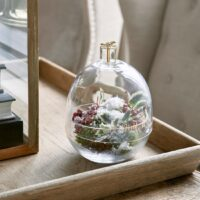 Glasklokke - Present With Love Storage Jar