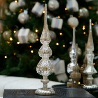 Top - Celebrate Christmas Peak On Stand