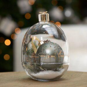 Glasklokke - Present With Love Storage Jar