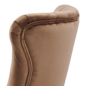 Spisebordstol - Davis Dining Chair, velvet III, golden mink